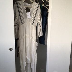 Long sleeve maxi dress/cover up